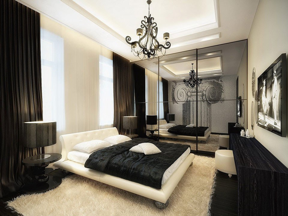 Black and White Room Decor Luxury Modern Black and White Bedroom Ideas