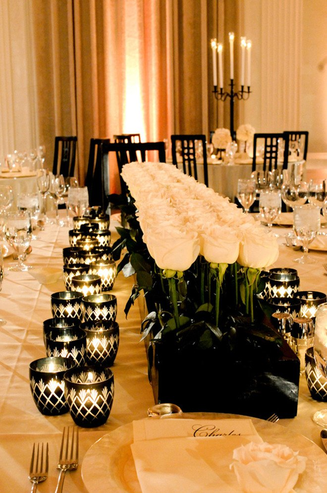 Black and White Table Decor Beautiful 25 Stunning Wedding Centerpieces Best Of 2012 Belle the Magazine