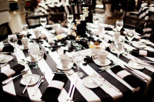 Black and White Table Decor Elegant Black and White Weddings – Classy and with Plenty Of Room for Customization