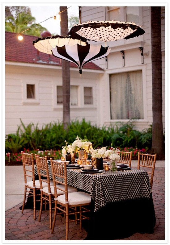 Black and White Table Decor Elegant Inspiration Of the Day B Lovely events