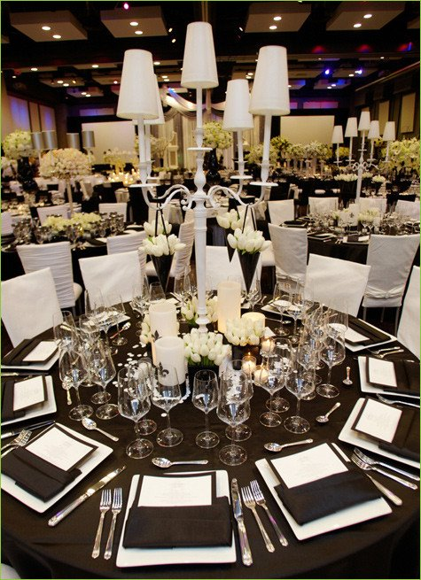 Black and White Table Decor Fresh Dream A theme today S Letter B