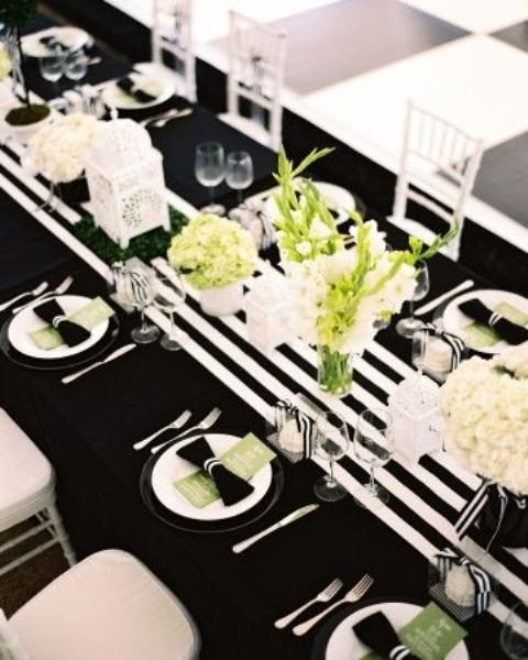 26 Elegant Black And White Thanksgiving Décor Ideas DigsDigs