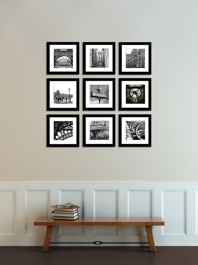 Black and White Wall Decor Luxury Paris Graphy Paris France In Black and White Print Set