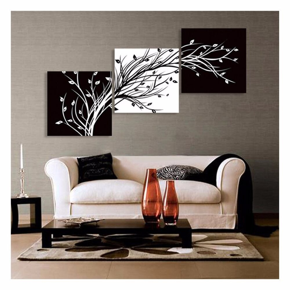 Black and White Wall Decor Unique Hd Canvas Prints Abstract Black and White Tree Wall Art Home Decor