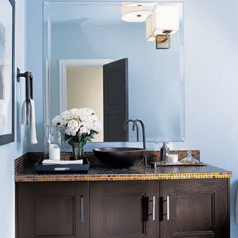 Blue and Brown Bathroom Decor Beautiful Color Series Decorating with Blue and Brown Rustic Crafts & Chic Decor