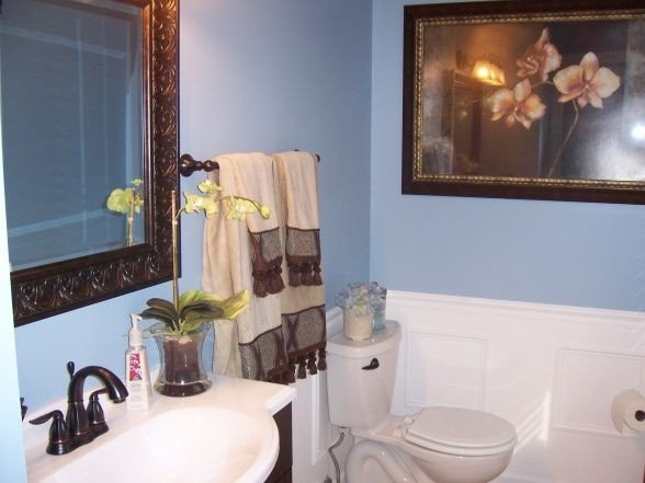 Blue and Brown Bathroom Decor New 29 Best Images About Blue Brown Bathroom On Pinterest