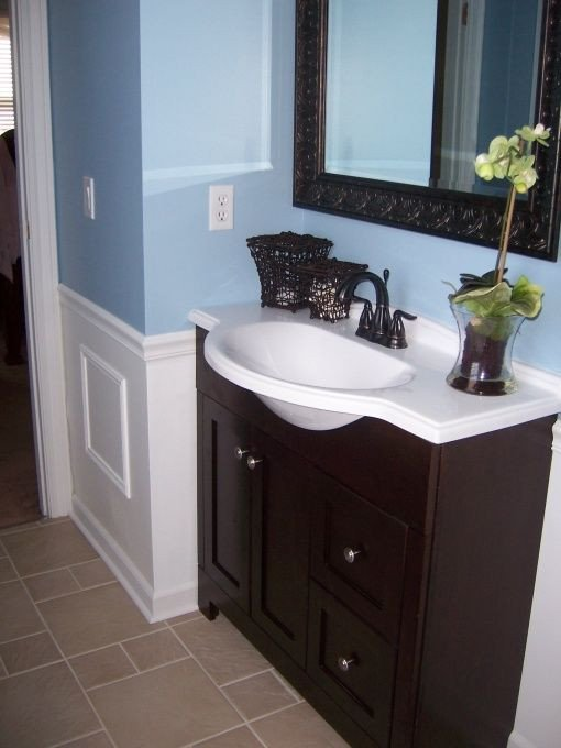 29 best Blue brown bathroom images on Pinterest