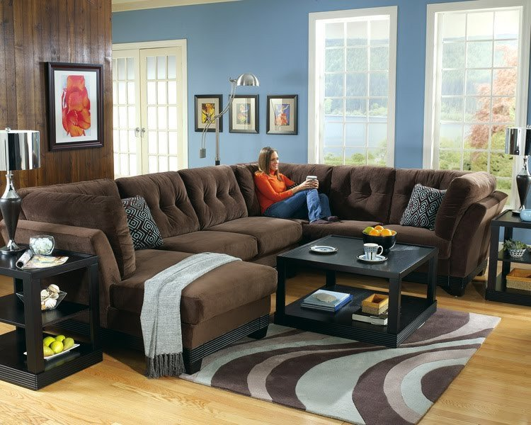 Blue and Brown Home Decor Awesome Home Decor Living Room Blue Wall Color