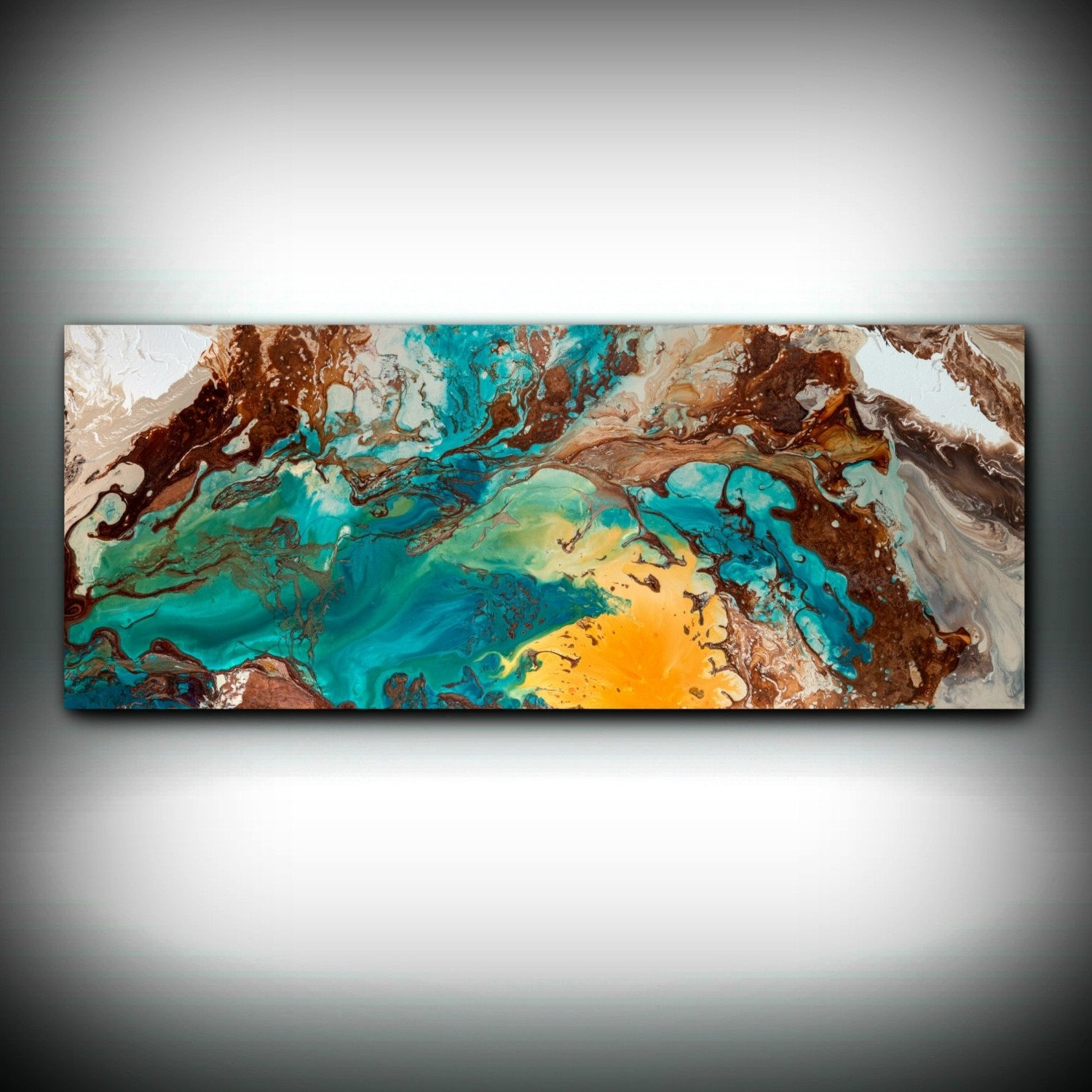 Blue and Brown Wall Decor New Best 15 Of Blue and Brown Abstract Wall Art