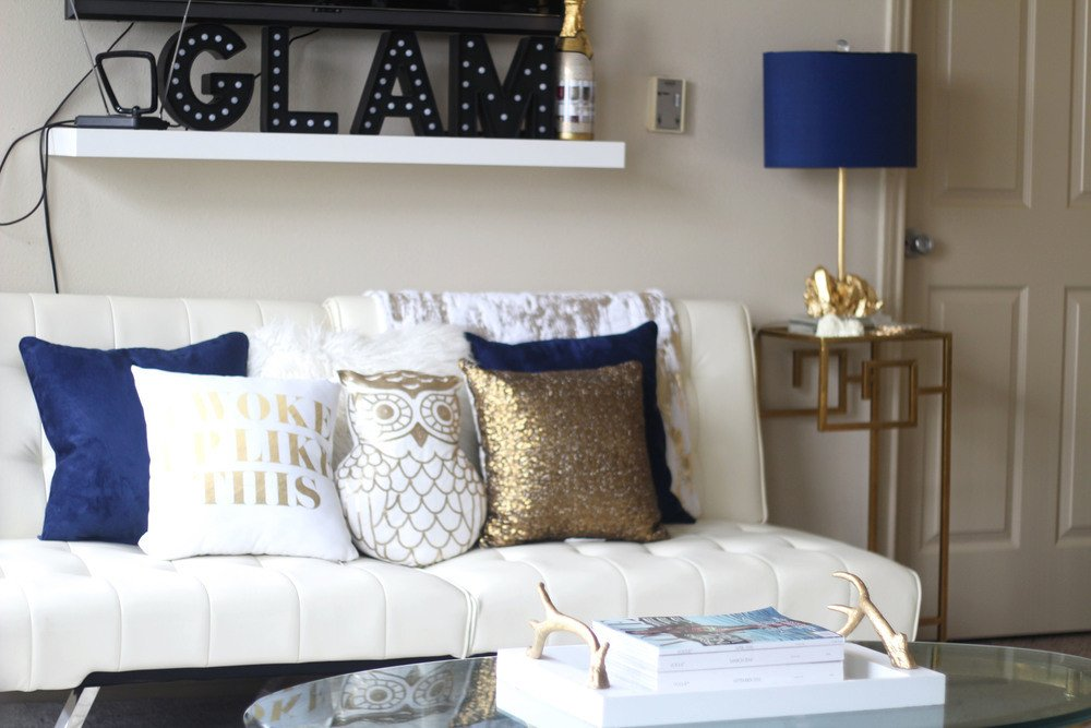 Blue and Gold Home Decor Elegant 6 Easy Ways to Update Accent Decor