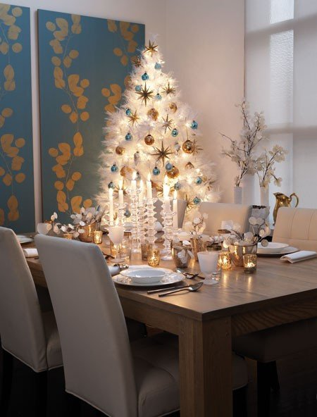 Blue and Gold Home Decor Lovely Decking Your Halls with A touch Of Holiday Cheer – Cedarglen Homes Blog