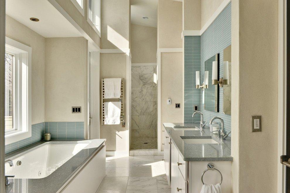 Blue and Gray Bathroom Decor Elegant Blue and Grey Bathroom Ideas