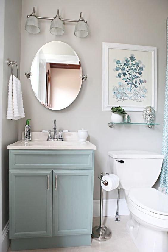 Blue and Gray Bathroom Decor Lovely Light Blue Vanity Light Gray Walls S and for Tumblr Pinterest
