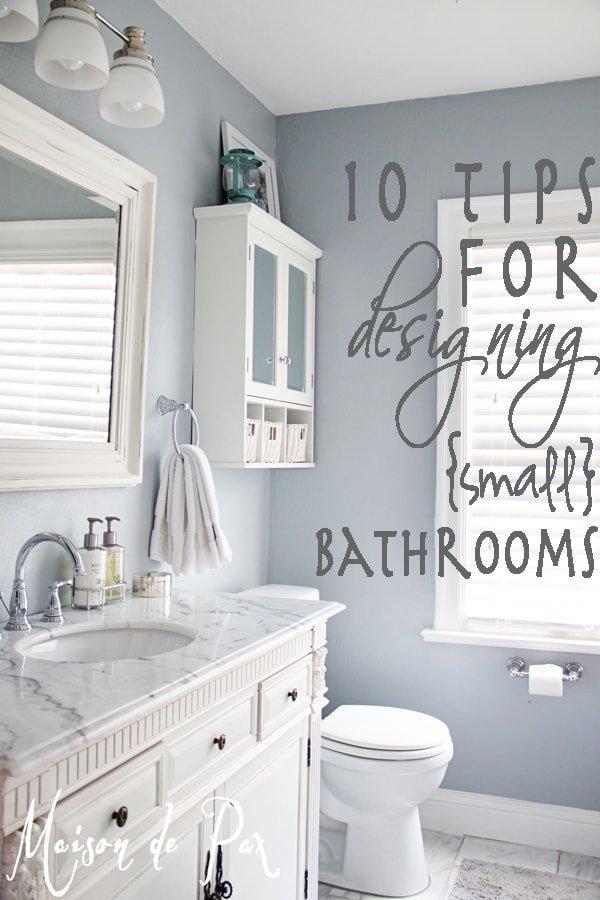 Blue and Gray Bathroom Decor New How to Design A Small Bathroom