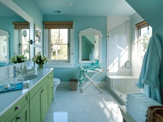 Blue and Green Bathroom Decor Best Of Turquoise Room 12 Ideas for Inspiration