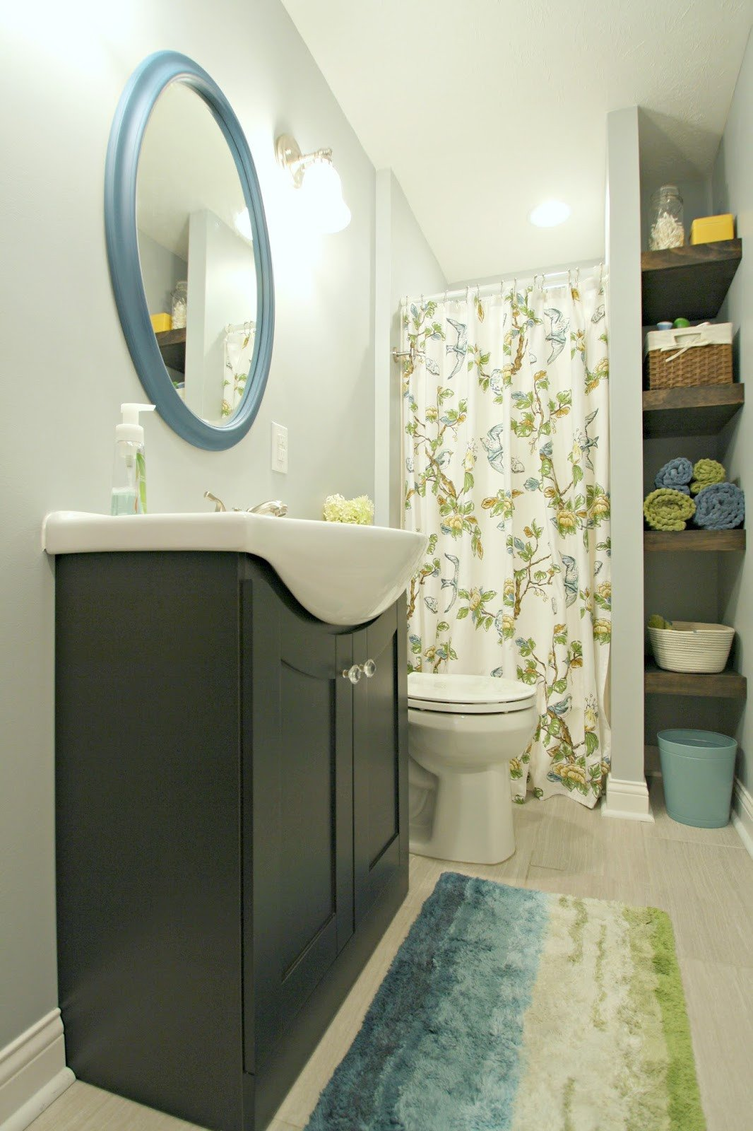 Blue and Green Bathroom Decor Fresh My Plan for No Spend July Get Er Done From Thrifty Decor Chick