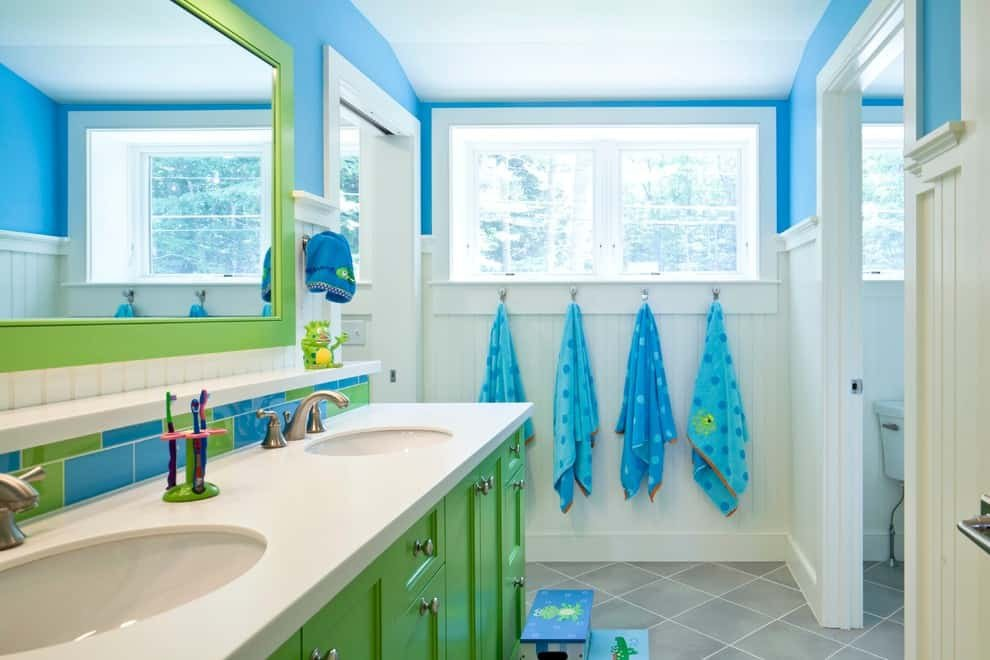 Blue and Green Bathroom Decor New 100 Kid S Bathroom Ideas themes and Accessories S