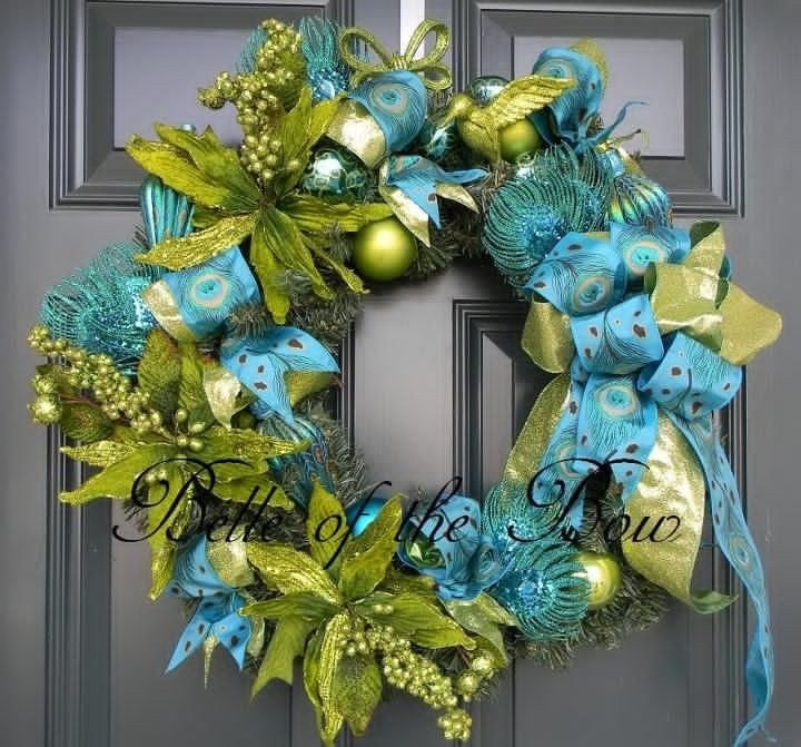 Blue and Green Christmas Decor Best Of Turquoise and Lime Christmas Decorations