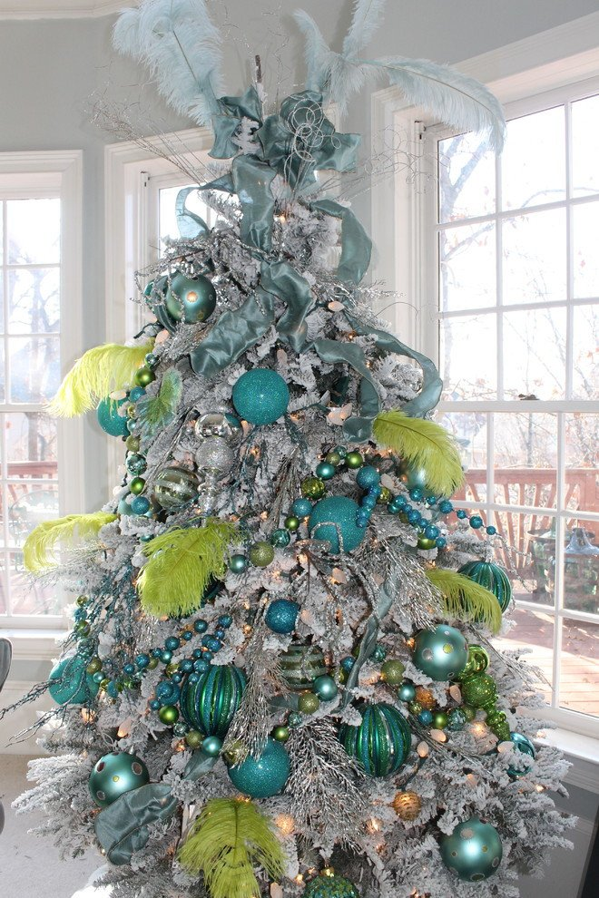 Blue and Green Christmas Decor Fresh 15 Great Colorful Ideas for Home Christmas Decorations