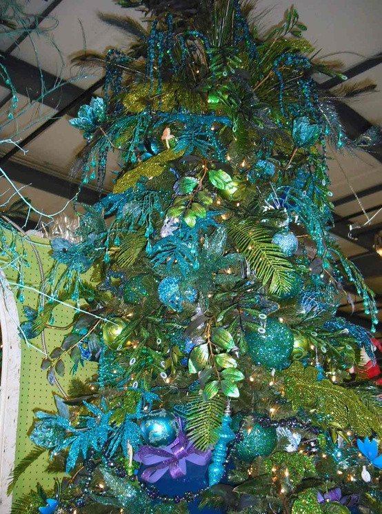 Blue and Green Christmas Decor Fresh 32 Inspiring Colorful Christmas Decor Ideas