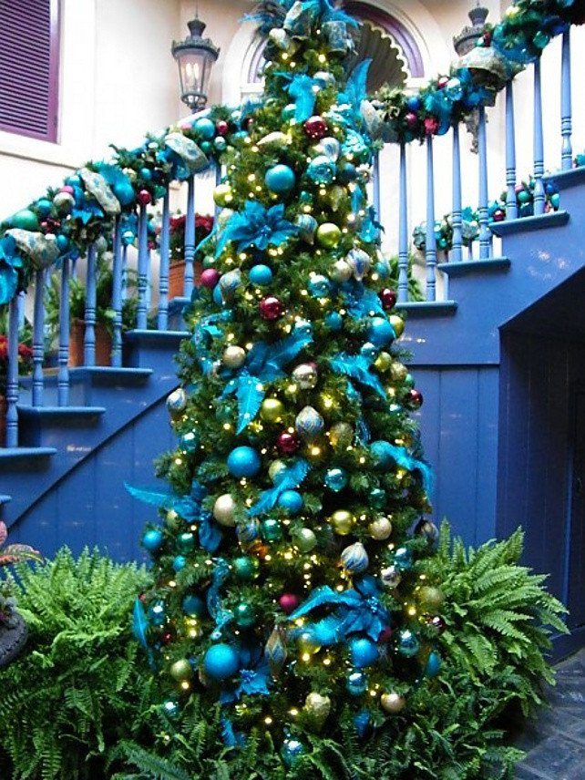 Blue and Green Christmas Decor Lovely 25 Awesome Blue Christmas Decorations Ideas Interior Vogue