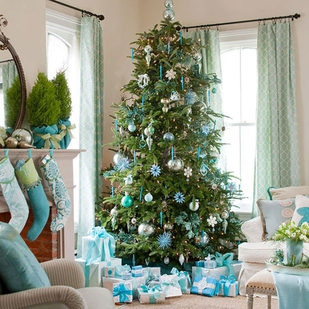 Blue and Green Christmas Decor Lovely 4 Holiday Colour Schemes to Match Your Style Blog