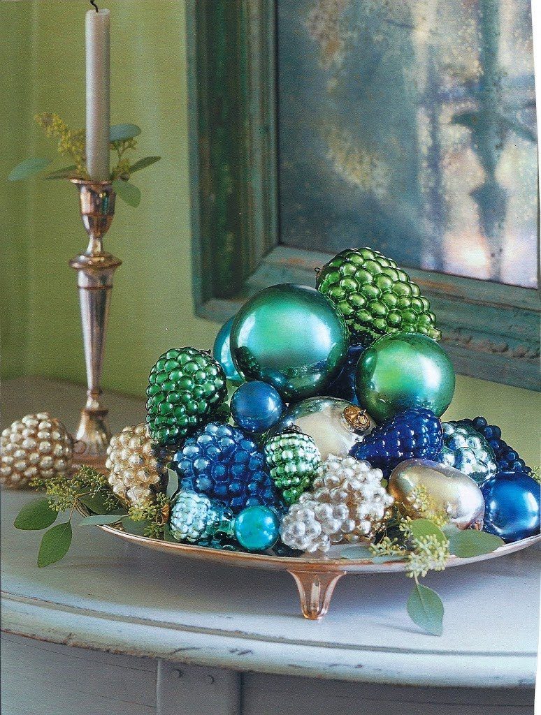 Blue and Green Christmas Decor New Habitually Chic Blue & Green Christmas