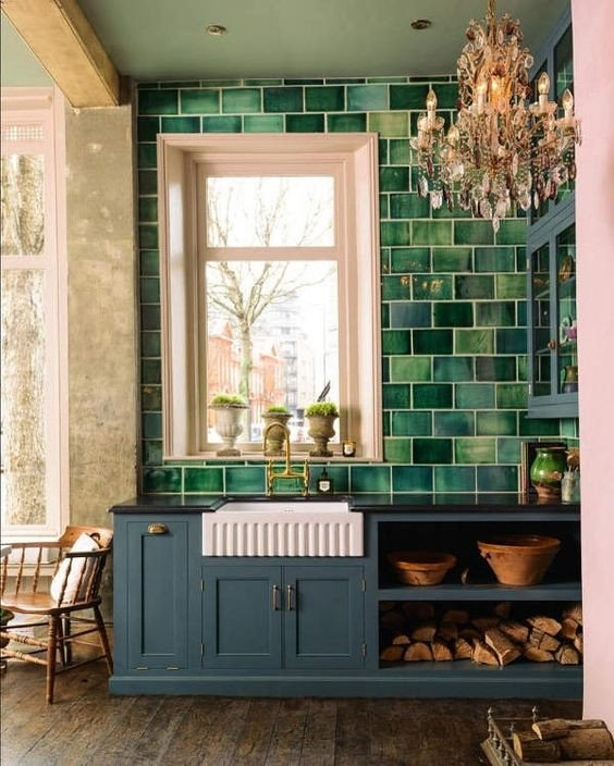 Blue and Green Kitchen Decor Awesome 30 Green Kitchen Decor Ideas that Inspire Digsdigs