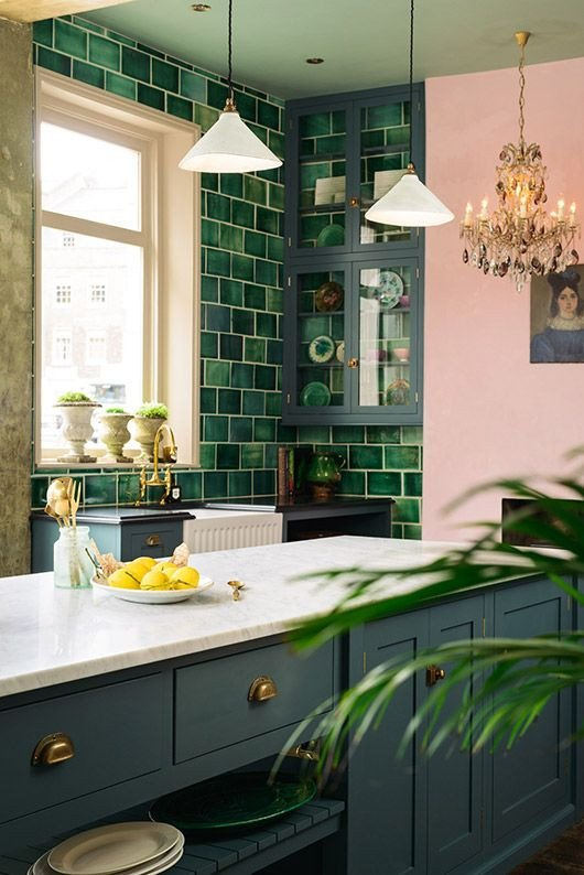 Blue and Green Kitchen Decor Lovely 30 Green Kitchen Decor Ideas that Inspire Digsdigs