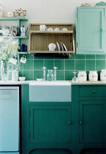 Blue and Green Kitchen Decor Lovely Mint Color Mania Spring & Summer 2012 Style