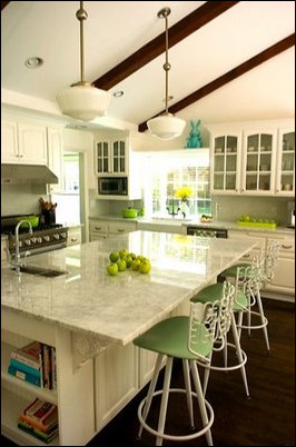 Blue and Green Kitchen Decor Unique Color Crush Blue and Green Kitchens