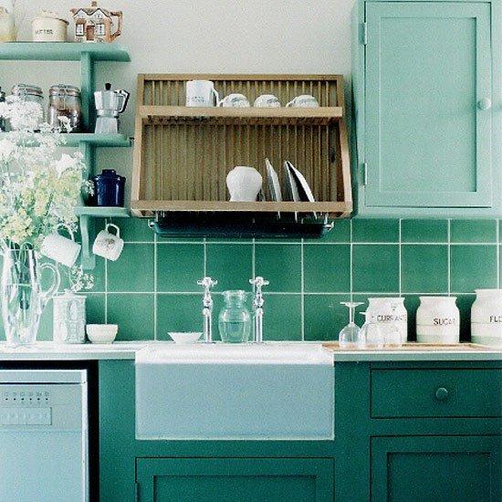 Blue and Green Kitchen Decor Unique Traditional Green Kitchen Kitchen Design