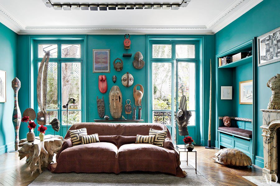 Blue and Green Wall Decor Awesome Blue Green Paint Color Ideas S
