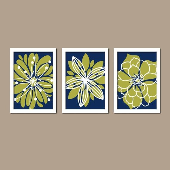 Blue and Green Wall Decor Fresh Items Similar to Navy Green Wall Art Bedroom Canvas or Prints Bathroom Artwork Bedroom