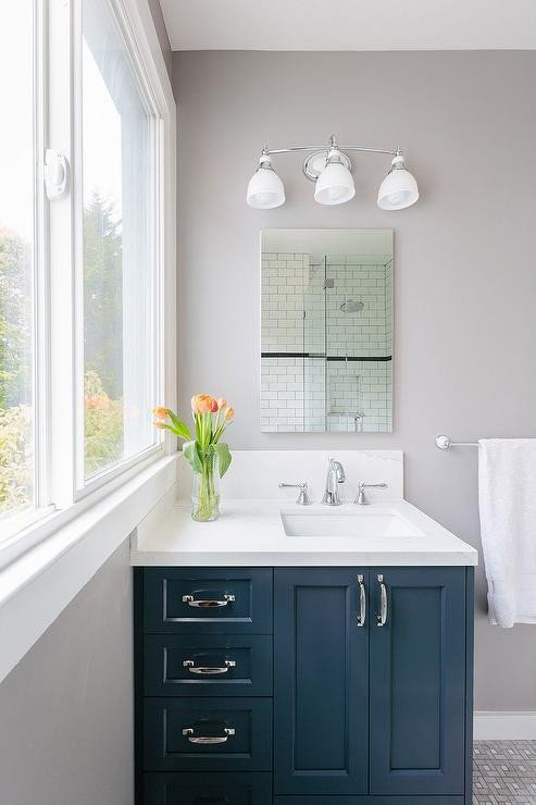 Blue and Grey Bathroom Decor New My Name My Name is and Kitchen Windows On Pinterest