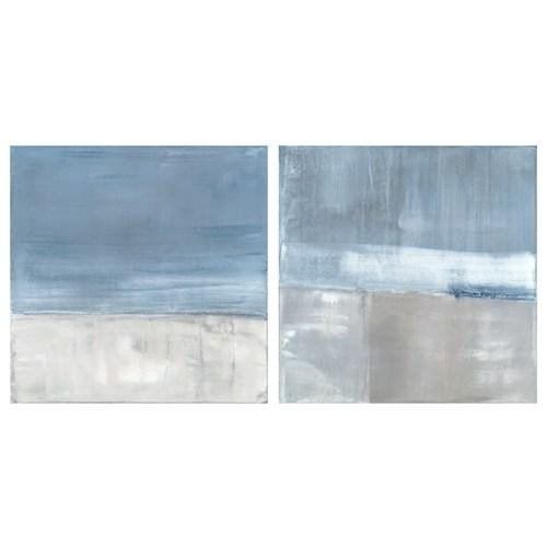 Blue and Grey Wall Decor Best Of Aidan Gray Decor Wall Art Adrift Set Of 2 Zinc Door
