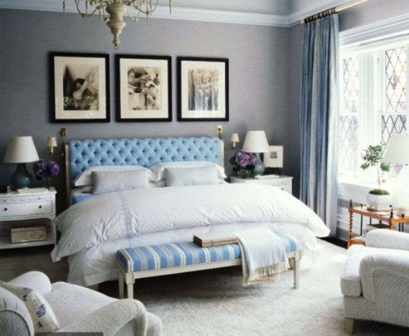 Blue and Grey Wall Decor Luxury Blue and Turquoise Accents In Bedroom Designs – 39 Stylish Ideas