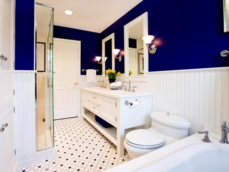 Blue and White Bathroom Decor Fresh 20 Small Master Bathroom Designs Decorating Ideas