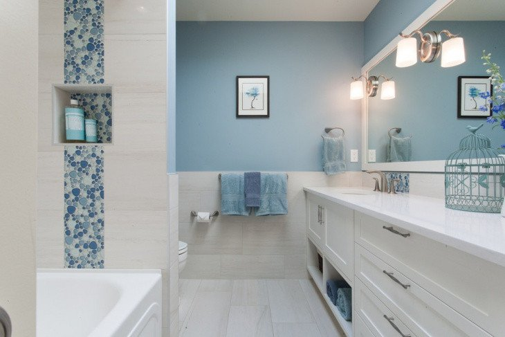 Blue and White Bathroom Decor New 15 Blue and White Bathroom Designs Ideas