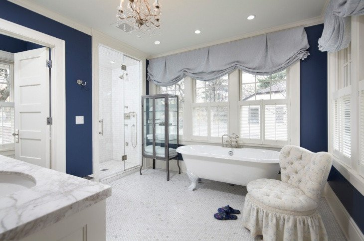 Blue and White Bathroom Decor Unique 20 French Country Bathroom Designs Ideas