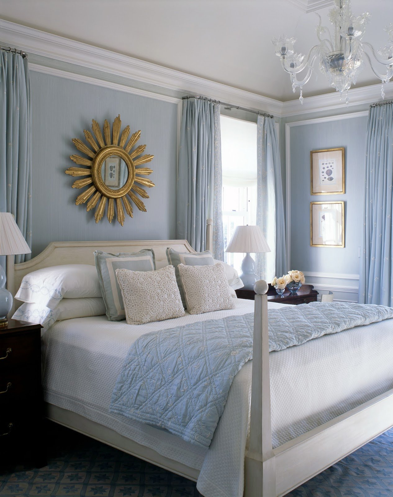 Blue and White Bedroom Decor Awesome A Blue and White Beach House by Phoebe and Jim Howard the Glam Pad