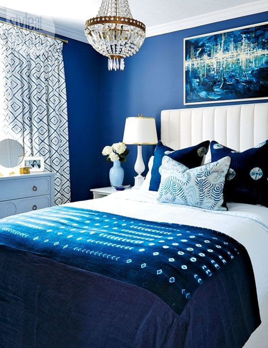 Blue and White Bedroom Decor Elegant Colors Of Spring 2015