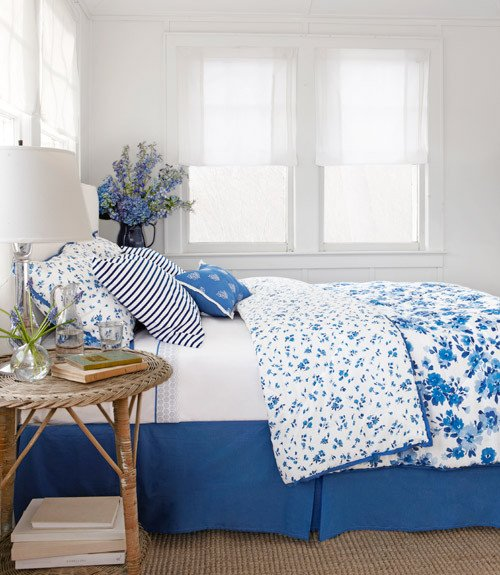 Blue and White Bedroom Decor New Belle On Heels Blue and White Bedroom
