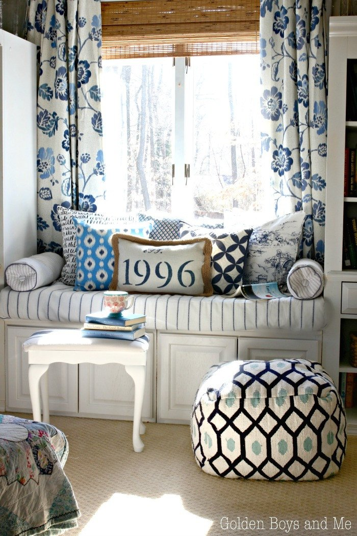 Blue and White Bedroom Decor New Golden Boys and Me Blue & White Master Bedroom