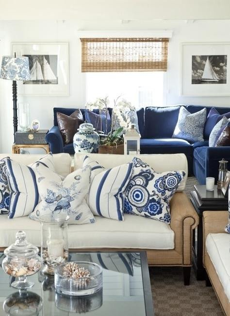Blue and White Decor Ideas Inspirational Modern Interior Decorating with Blue Stripes and Nautical Decor theme