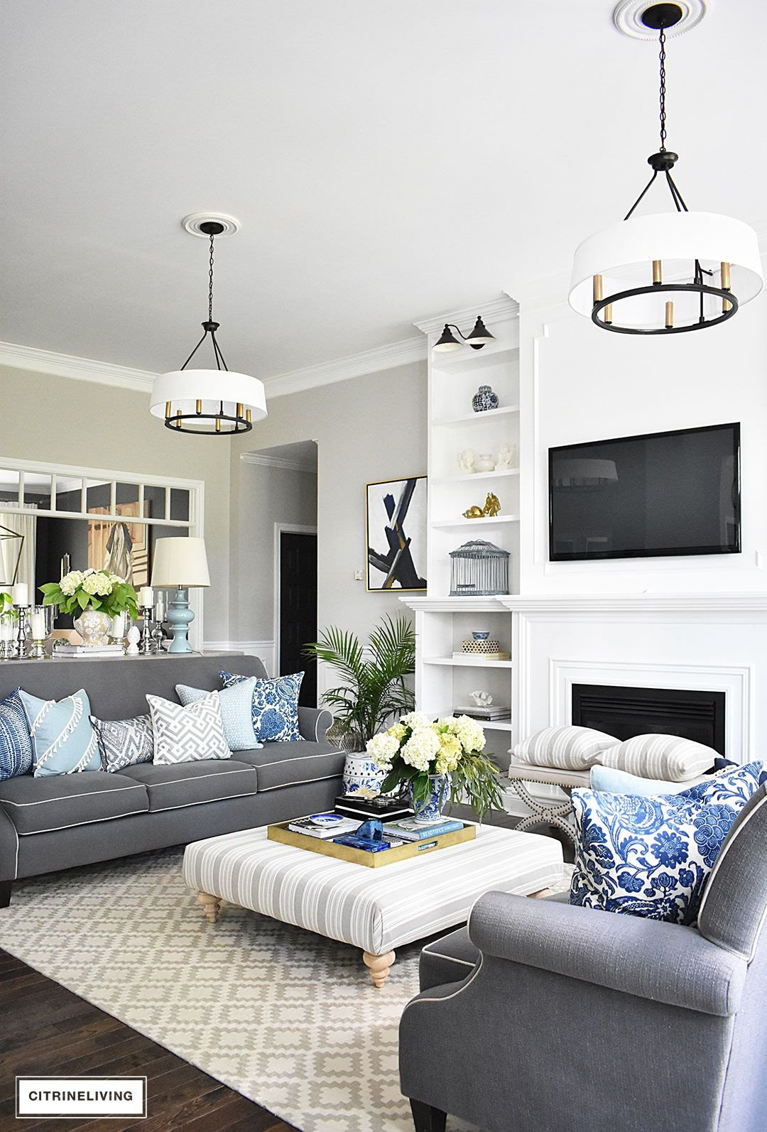 Blue and White Decor Ideas Luxury 20 Fresh Ideas for Decorating with Blue and White Blue and White