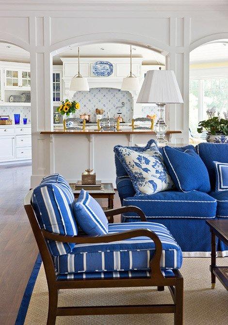 Blue and White Decor Ideas Unique Blue and White Rooms