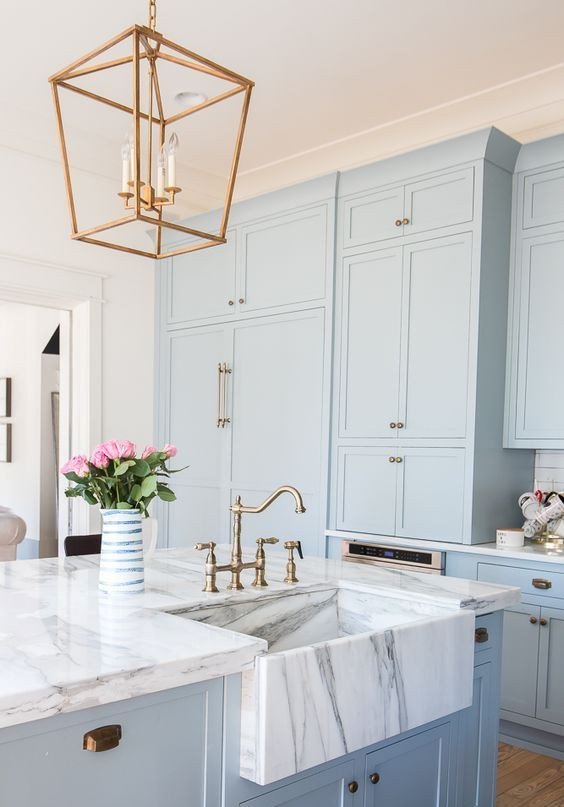 Blue and White Kitchen Decor Lovely 30 Gorgeous Blue Kitchen Decor Ideas Digsdigs