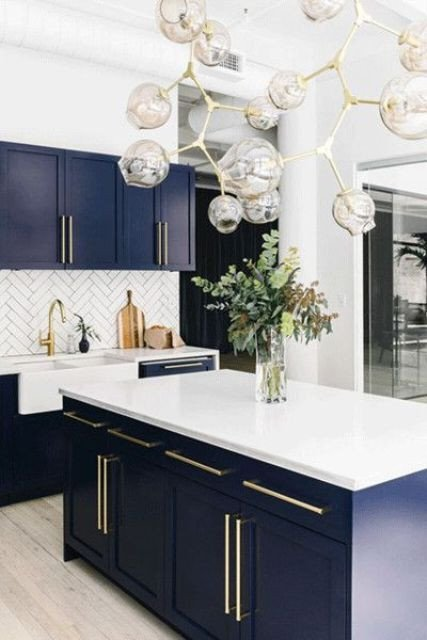 Blue and White Kitchen Decor Luxury 30 Gorgeous Blue Kitchen Decor Ideas Digsdigs
