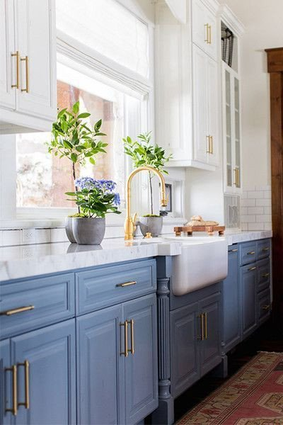 Blue and White Kitchen Decor New Blue and White Kitchen Decor Inspiration 40 Ideas Hello Lovely